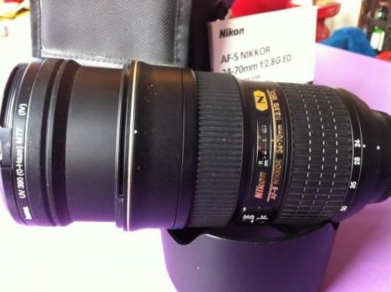 Objectif Nikon AF-S NIKKOR 24-70mm f/2.8