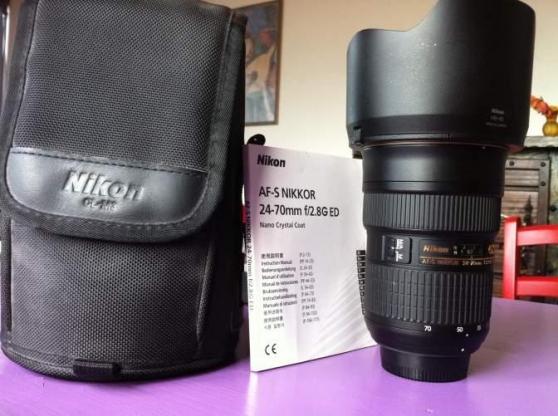 Objectif Nikon AF-S NIKKOR 24-70mm f/2.8 - Photo 4