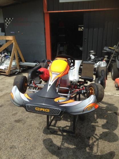 Karting 125 CRG Boîte 6 vitesses
