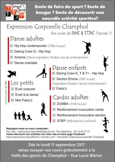zumba-danse-danse orientale -hiphop - Annonce gratuite marche.fr