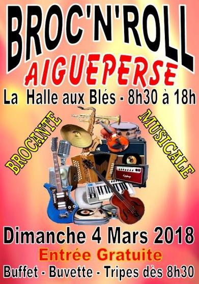 2ème broc'n'roll - brocante  musicale - Annonce gratuite marche.fr