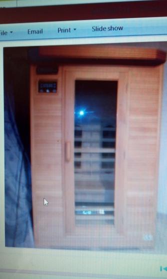 sauna infrarouge 2 personnes - Annonce gratuite marche.fr