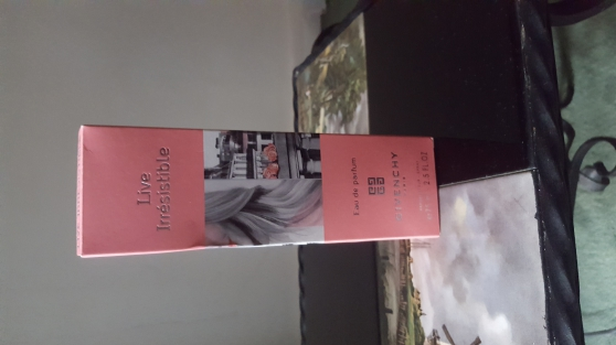 parfum givenchy live irresistible 75 ml - Annonce gratuite marche.fr