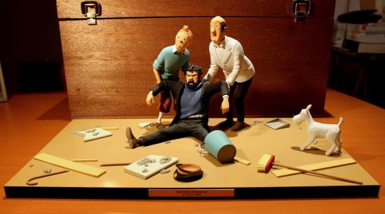 "Fariboles Hergé, Tintin ""C'est vraiment"