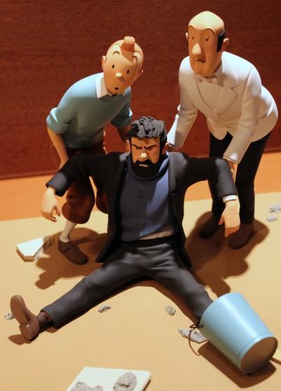 "Fariboles Hergé, Tintin \""C\'est vraiment - Photo 2"