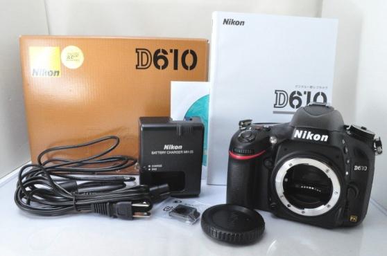 Annonce occasion, vente ou achat 'Nikon D610'