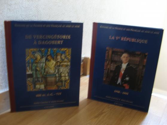 Annonce occasion, vente ou achat 'livres histoire s de la France et des fr'