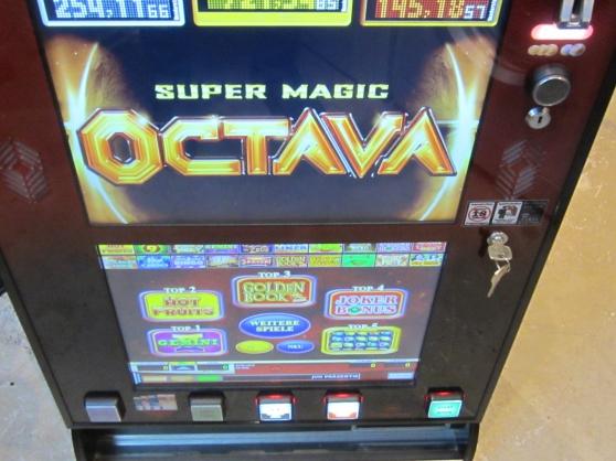 MACHINE A SOUS 20 JEUX DE CASINO JVH