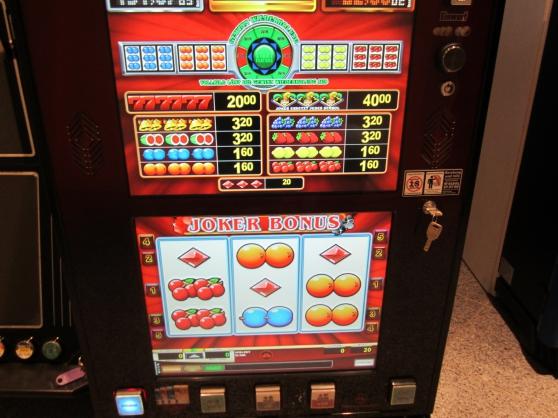 MACHINE A SOUS 20 JEUX DE CASINO JVH - Photo 2