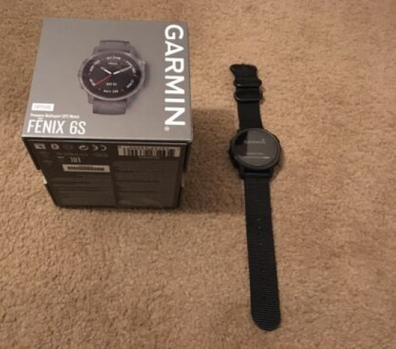 Annonce occasion, vente ou achat 'Garmin Fenix 6 S SAPHIR 42 mm, gris avec'