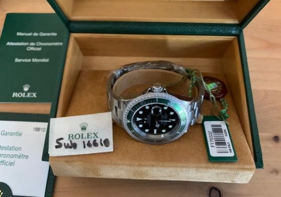 Rolex 50th Submariner Kermit Neuve