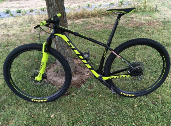 Annonce occasion, vente ou achat 'Cross-Country Scott scale rc world cup 2'
