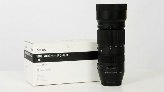 Objectif SIGMA 100-400mm f/5-6,3 DG OS H