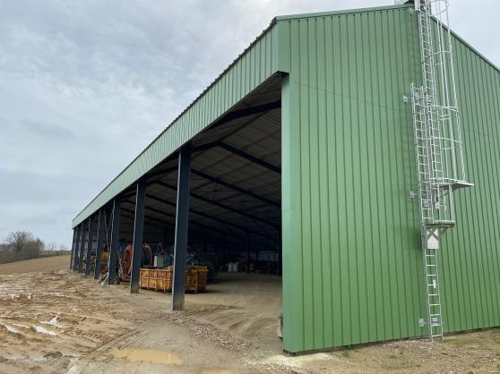 Hangar agricole photovoltaïque financé