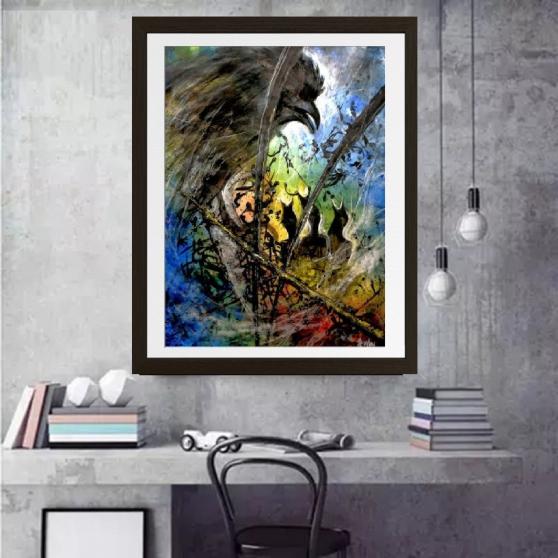 Annonce occasion, vente ou achat 'Acrylique peinture 0NB'