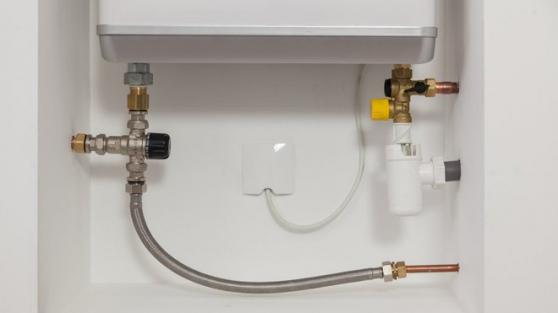 Installation d'un chauffe-eau