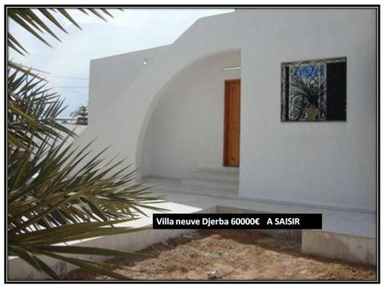magnifique villa houmt souk djerba