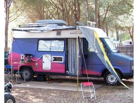 fourgon amenag citroen c25 caravanes camping car. Black Bedroom Furniture Sets. Home Design Ideas