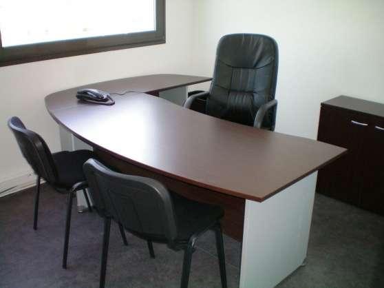 Bureau meublé à louer