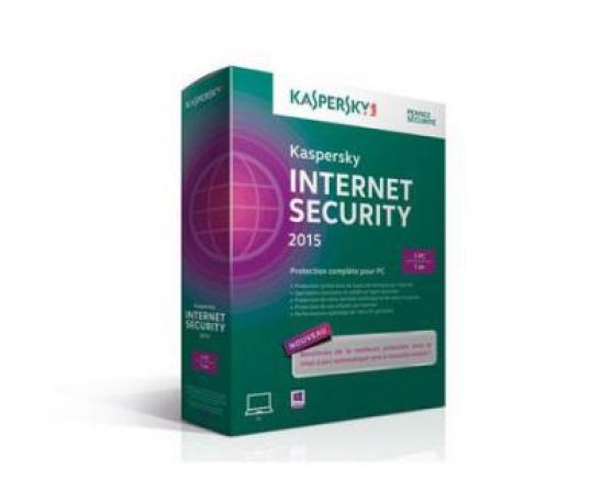 Kaspersky Internet Security 2015 1AN 1PC