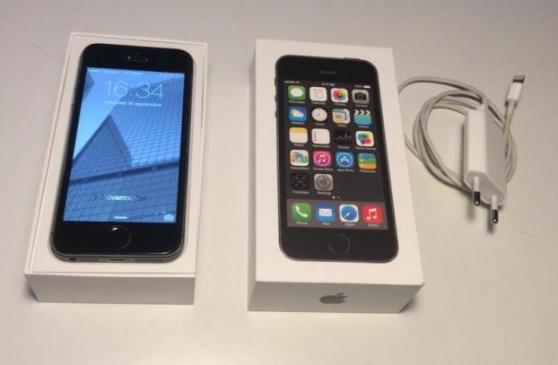 iphone 5s 32gb gris sidéral bonne état - Annonce gratuite marche.fr