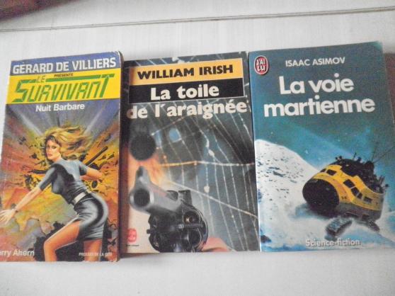 livres SCIENCES FICTION ET ROMAN LOT 2