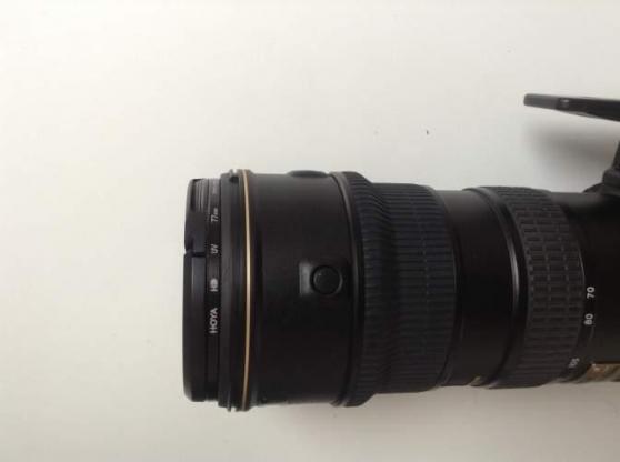 NIKON AF-S VR 70-200mm f/2.8 Objectif av