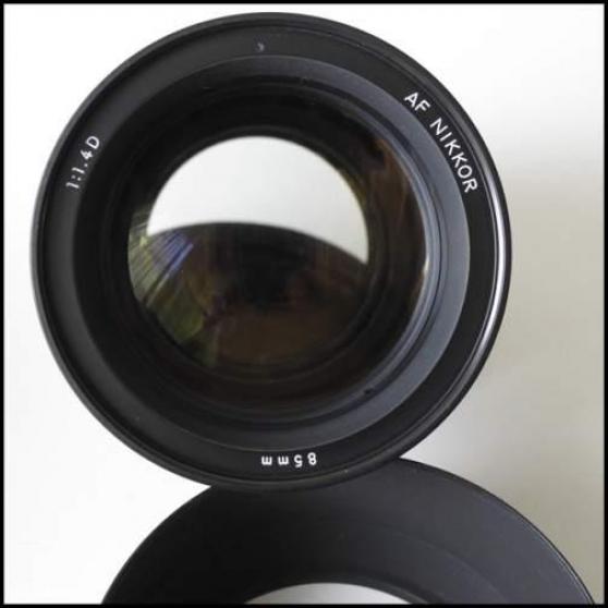 Nikon Nikkor objectif 85 1.4 AFD
