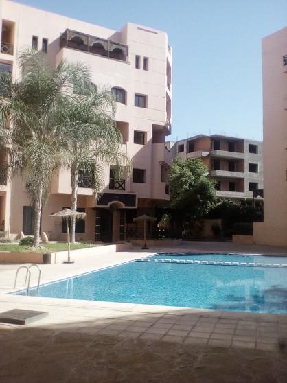 appartement meublé 2 ch 2 balcon piscine - Annonce gratuite marche.fr