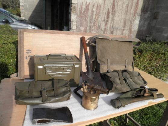...lot anciens objets militaria.. - Annonce gratuite marche.fr