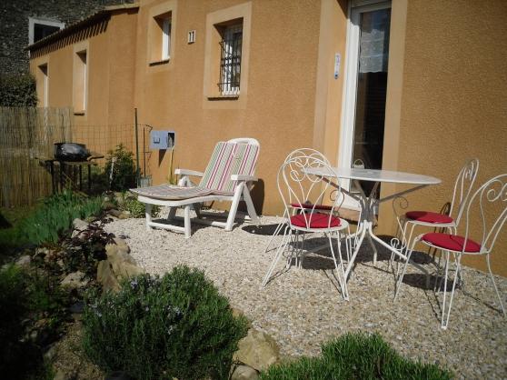 Appartement T3 avec jardin LAMALOU LES B