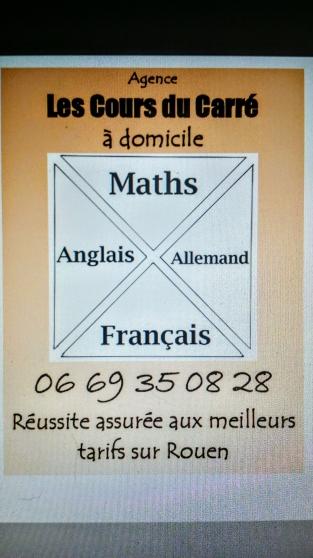 Annonce occasion, vente ou achat 'Cours du Carré:maths,français,anglais,al'
