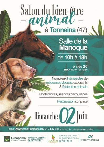 Annonce occasion, vente ou achat 'SALON DU BIEN-ÊTRE ANIMAL'