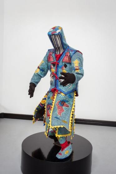 Art des revenants appelé ''Egoungoun''