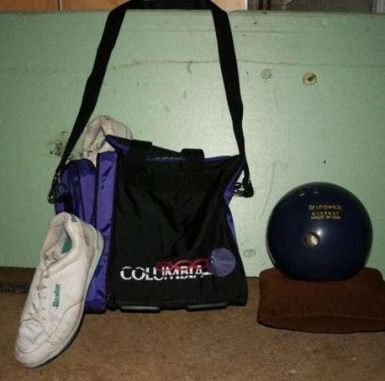 boule et chaussures de bowling