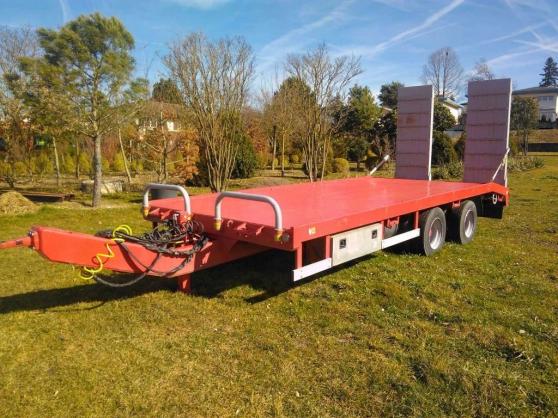 Remorque de transport agricole 40km/h