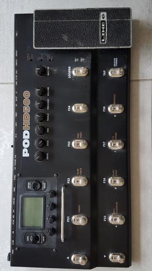 Annonce occasion, vente ou achat 'Pedale multi effets Line 6 POD HD500'