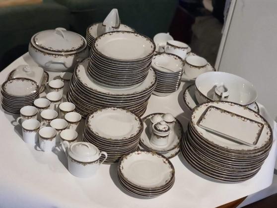 Service de table 124 p porcelaine Limoge