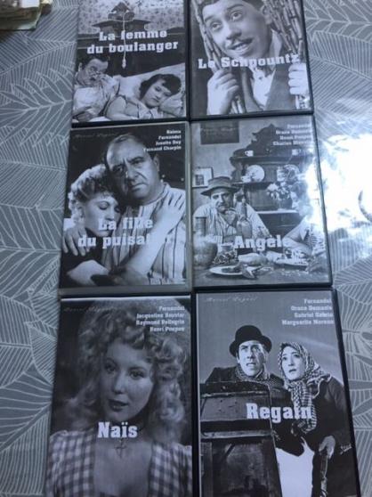 6 dvd pagnol noir et blanc bien lire l'