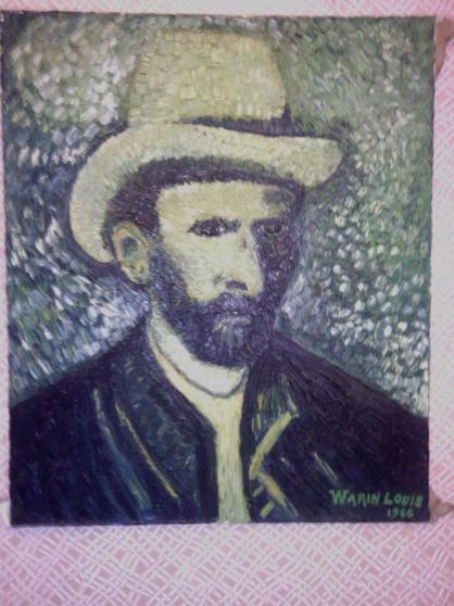 Auto portrait de van goh