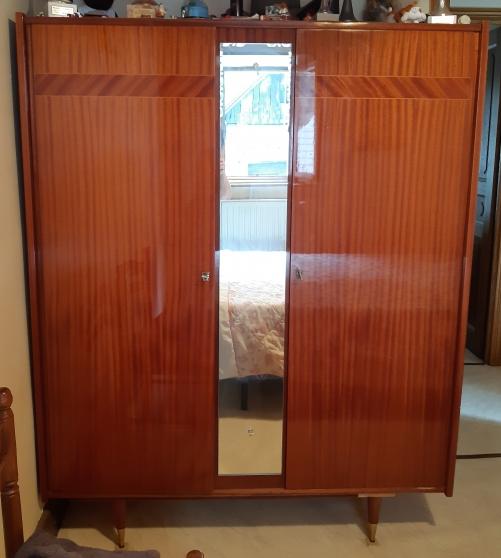 Annonce occasion, vente ou achat 'Armoire 2 portes en bois vernis'