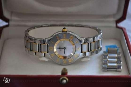 Annonce occasion, vente ou achat 'Superbe montre femme CARTIER must 21'