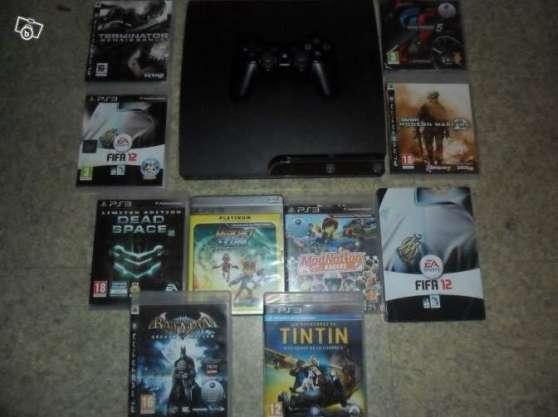 PS3 320Go + jeux + garantie
