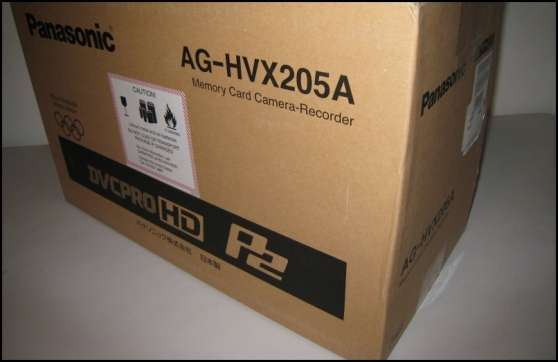 Panasonic AG-HVX205A caméscope 3-CCD