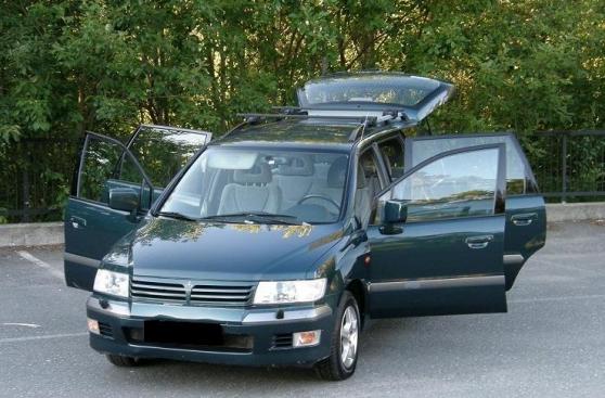 Mitsubishi space wagon Pneus avant neufs