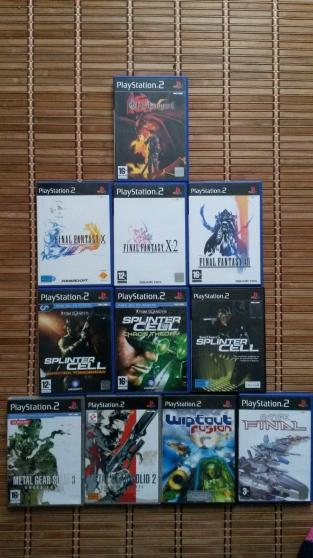 Lot de jeux PS2