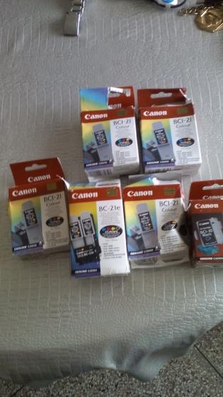 Lot 6 cartouche encre canon bc21 bc10 ne