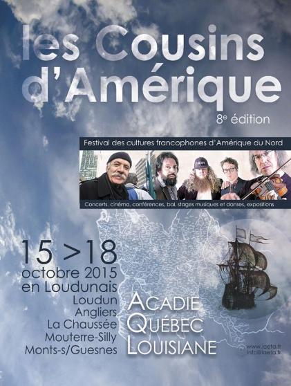 """Festival """"Les Cousins d'Amérique"""""""