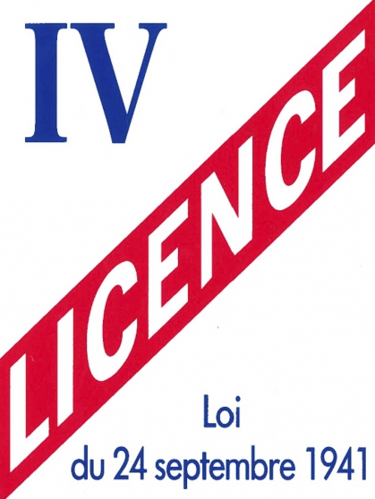 Annonce occasion, vente ou achat 'Licence 4'