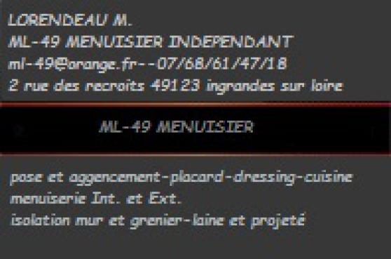 menuisier independant - Annonce gratuite marche.fr